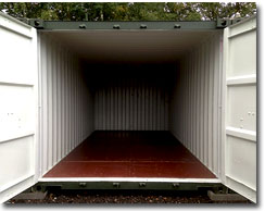 Spacious self storage at Landford Self Storage, Wiltshire